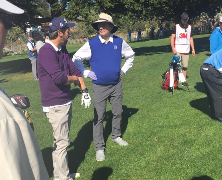<div class='meta'><div class='origin-logo' data-origin='none'></div><span class='caption-text' data-credit='KGO-TV/Mike Shumann'>Actor-comedian Ray Romano talks to actor-comedian Bill Murray at the 3M Celebrity Challenge at the AT&T Pebble Beach Pro-Am on Wednesday, February 10, 2016.</span></div>