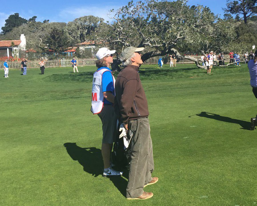 <div class='meta'><div class='origin-logo' data-origin='none'></div><span class='caption-text' data-credit='KGO-TV/Mike Shumann'>Actor-director Clint Eastwood played in the 3M Celebrity Challenge at the AT&T Pebble Beach Pro-Am on Wednesday, February 10, 2016.</span></div>