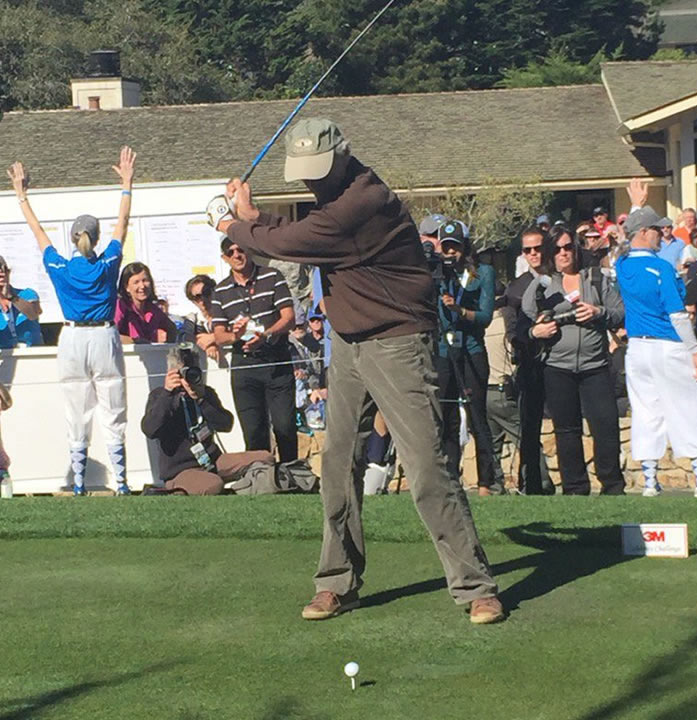<div class='meta'><div class='origin-logo' data-origin='none'></div><span class='caption-text' data-credit=''>Actor-director Clint Eastwood played in the 3M Celebrity Challenge at the AT&T Pebble Beach Pro-Am on Wednesday, February 10, 2016.</span></div>