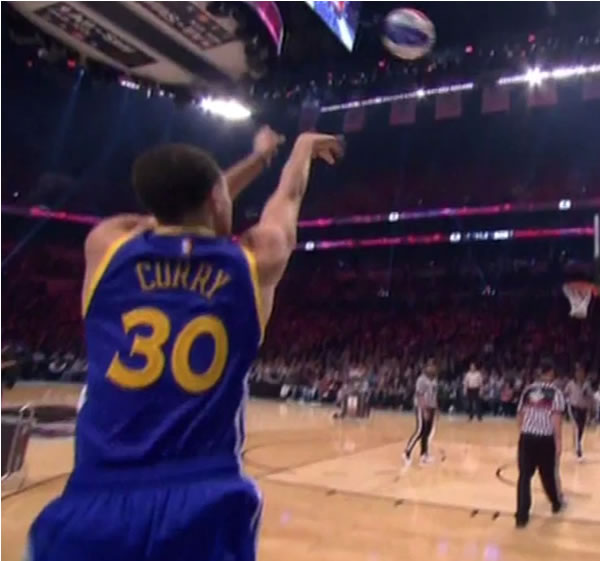 """<div class=""""meta image-caption""""><div class=""""origin-logo origin-image kgo""""><span>KGO</span></div><span class=""""caption-text"""">Stephen Curry shooting in the 3-point contest at the NBA All-Star weekend, Saturday, Feb. 14, 2015.</span></div>"""