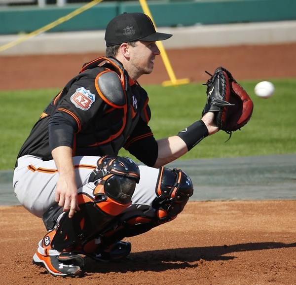 "<div class=""meta image-caption""><div class=""origin-logo origin-image none""><span>none</span></div><span class=""caption-text"">San Francisco Giants during a spring training baseball practice, Tuesday, Feb. 23, 2016, in Scottsdale, Ariz. (AP Photo/Matt York)</span></div>"