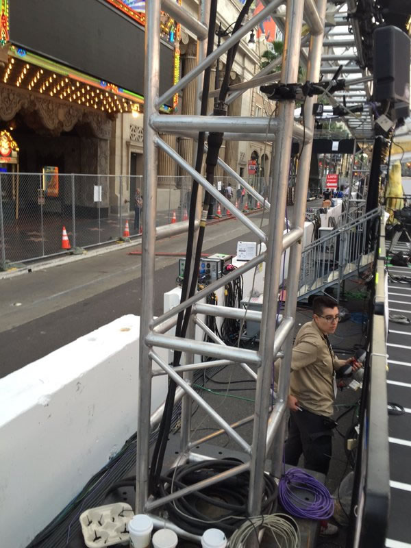 """<div class=""""meta image-caption""""><div class=""""origin-logo origin-image none""""><span>none</span></div><span class=""""caption-text"""">Here's a look at Hollywood Boulevard in front of the Dolby Theater in Los Angeles on Friday, February 26, 2016 blocked off to traffic in preparation for the Oscars. (KGO-TV/Matt Keller)</span></div>"""