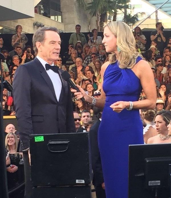 "<div class=""meta image-caption""><div class=""origin-logo origin-image kgo""><span>KGO</span></div><span class=""caption-text"">Best Actor nominee Bryan Cranston talks to a reporter on The Oscars red carpet Feb. 28, 2016. (KGO-TV/ Matt Keller)</span></div>"