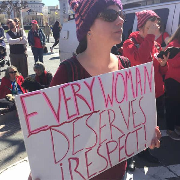 "<div class=""meta image-caption""><div class=""origin-logo origin-image none""><span>none</span></div><span class=""caption-text"">Women are seen taking part in an International Women's Day march in San Francisco, Calif. on Wednesday, March 8, 2017. (KGO-TV)</span></div>"