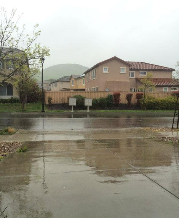<div class='meta'><div class='origin-logo' data-origin='none'></div><span class='caption-text' data-credit='Submitted to KGO-TV via Twitter/@PrincipalTrots'>A viewer submitted this image of a soggy Fairfield, Calif. March 10, 2016.</span></div>