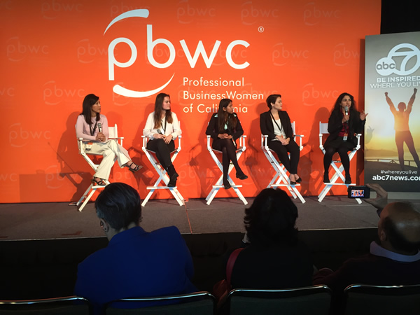 <div class='meta'><div class='origin-logo' data-origin='none'></div><span class='caption-text' data-credit='KGO-TV'>Powerful speakers speaks help women advance personally and professionally at the 27th Annual PBWC Conference at the Moscone Center West in San Francisco.</span></div>
