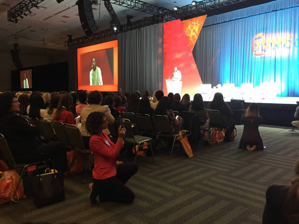 <div class='meta'><div class='origin-logo' data-origin='none'></div><span class='caption-text' data-credit='KGO-TV'>Keynote speaker Venus Williams at the 27th Annual PBWC Conference at the Moscone Center West in San Francisco.</span></div>