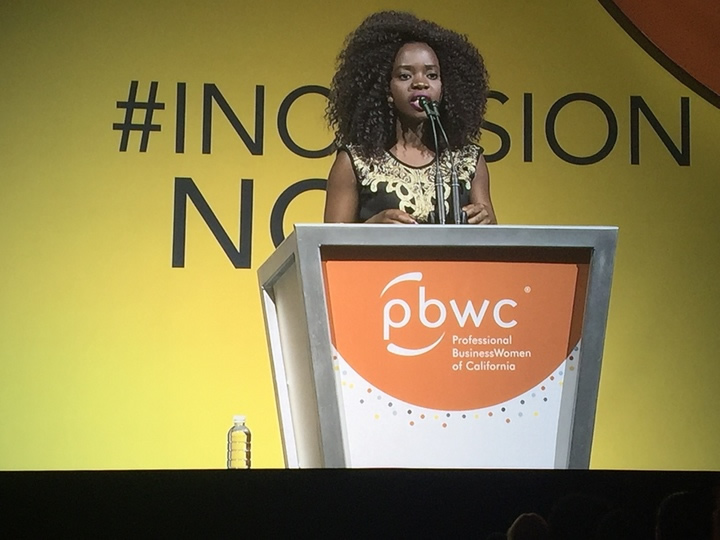 <div class='meta'><div class='origin-logo' data-origin='none'></div><span class='caption-text' data-credit=''>Activist Memory Banda speaks at the West at the Professional BusinessWomen of California Conference in San Francisco on March, 28, 2017.</span></div>