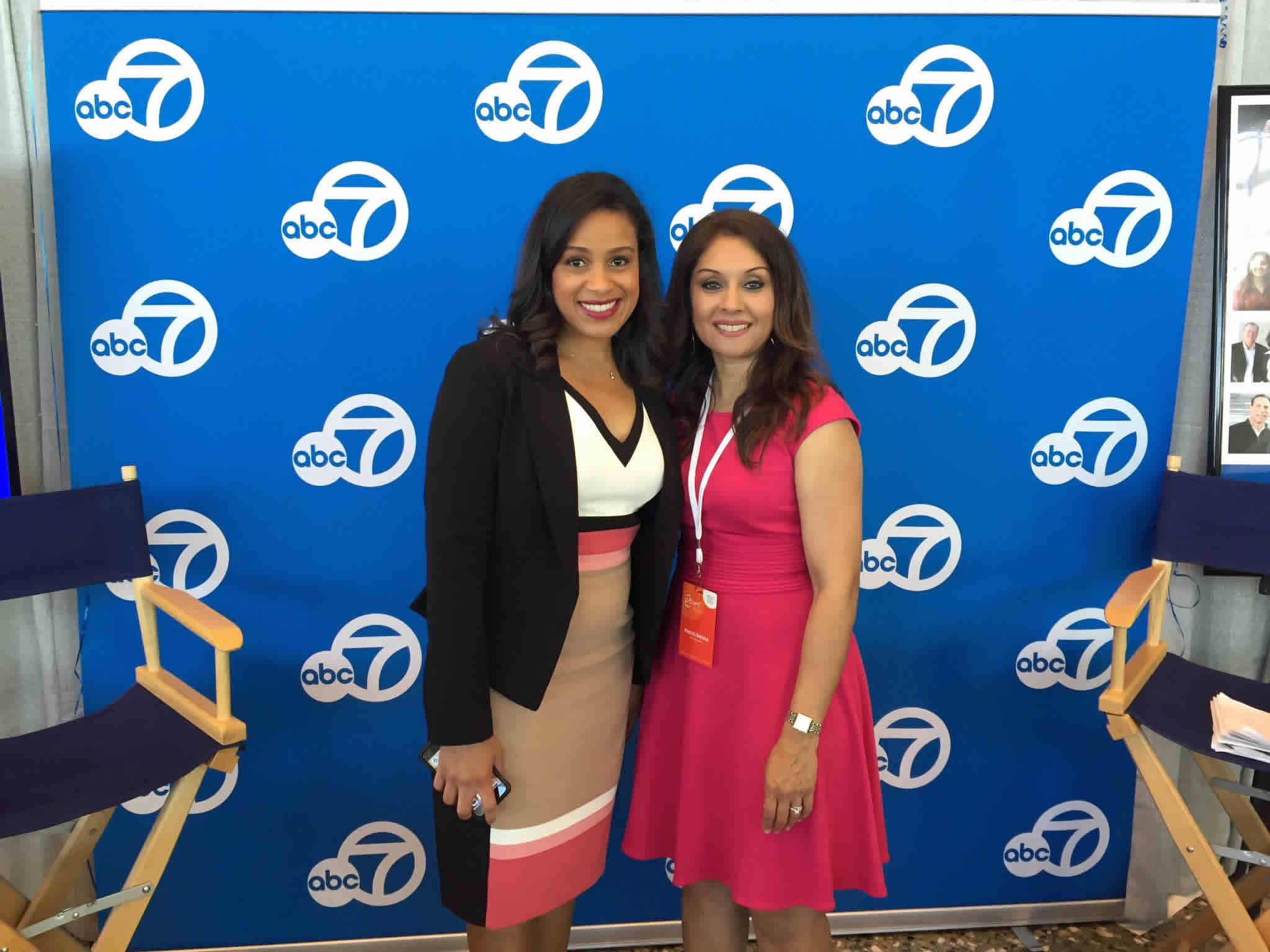 <div class='meta'><div class='origin-logo' data-origin='none'></div><span class='caption-text' data-credit='KGO-TV'>ABC7's Ama Dates and Sandhya Patel at the Professional BusinessWomen of California Conference in San Francisco on March, 28, 2017.</span></div>