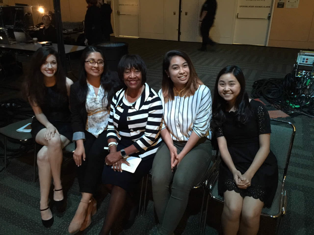 "<div class=""meta image-caption""><div class=""origin-logo origin-image none""><span>none</span></div><span class=""caption-text"">Scholarship recipients at the West at the Professional BusinessWomen of California Conference in San Francisco on March, 28, 2017.</span></div>"