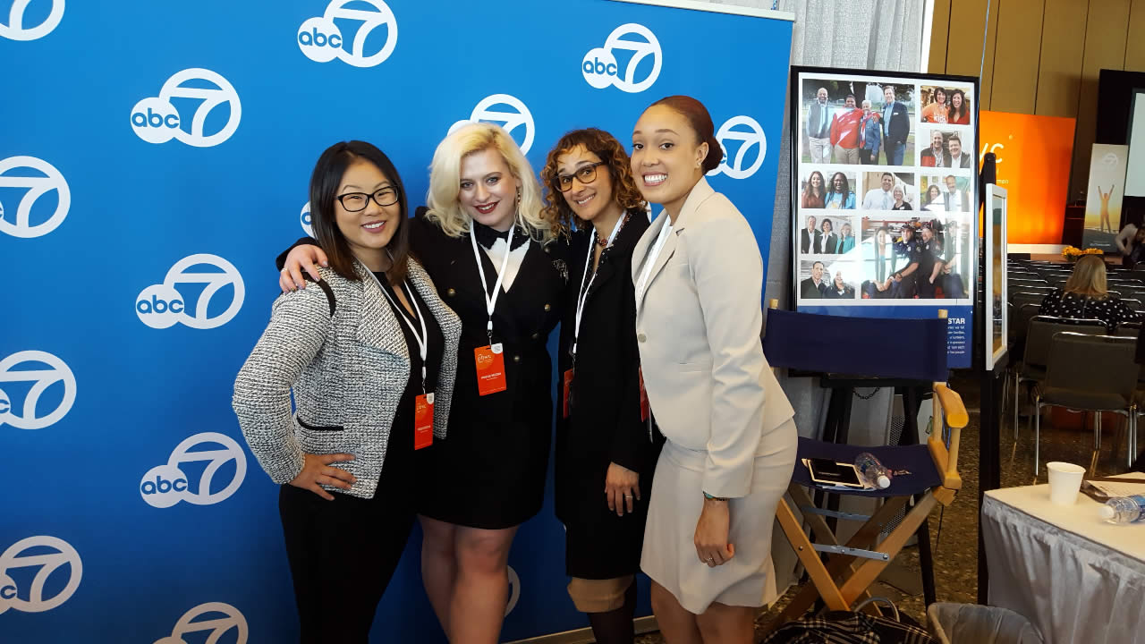 <div class='meta'><div class='origin-logo' data-origin='none'></div><span class='caption-text' data-credit='KGO-TV'>ABC7's Digital News staff at the Professional BusinessWomen of California Conference in San Francisco on March, 28, 2017.</span></div>