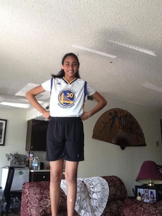<div class='meta'><div class='origin-logo' data-origin='none'></div><span class='caption-text' data-credit='Photo submitted by Shirley Lal/Facebook'>Golden State Warriors fan Shirley Lal captured this photo. Send your fan photos to uReport@kgo-tv.com!</span></div>