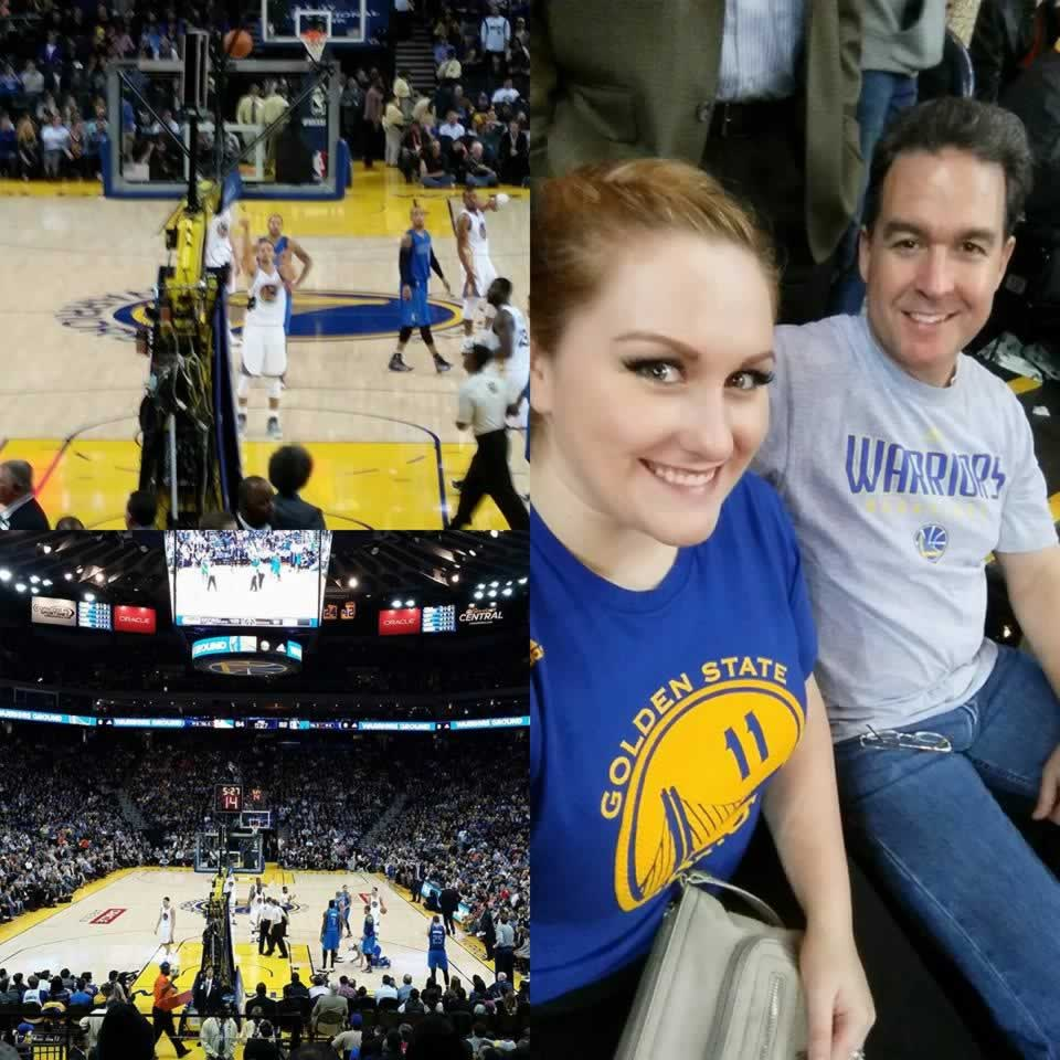 <div class='meta'><div class='origin-logo' data-origin='none'></div><span class='caption-text' data-credit='Photo submitted by Kylie Mungo/Facebook'>Golden State Warriors fan Kylie Mungo captured these photos while at a game with her father. Send your fan photos to uReport@kgo-tv.com!</span></div>