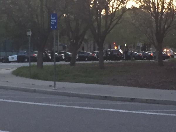 <div class='meta'><div class='origin-logo' data-origin='KGO'></div><span class='caption-text' data-credit=''>The first batch of patrol cars arrive to help SJPD on Thursday, April 2, 2015. (KGO-TV/Janet O)</span></div>