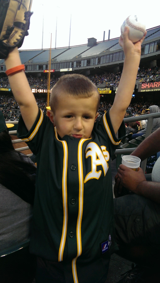 """<div class=""""meta image-caption""""><div class=""""origin-logo origin-image none""""><span>none</span></div><span class=""""caption-text"""">Let's go A's!  Send in your Oakland Athletics pride photos to ABC7 News and we may share them on TV! (KGO-TV/uReport)</span></div>"""