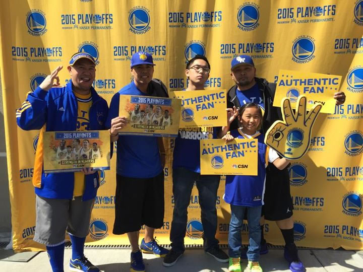 <div class='meta'><div class='origin-logo' data-origin='none'></div><span class='caption-text' data-credit='Photo sent to KGO-TV by Francis Sison/Facebook'>Golden State Warriors fans are showing off their #DubNation pride! Tag your photos on Facebook, Twitter, Google Plus, or Instagram using #DubsOn7!</span></div>