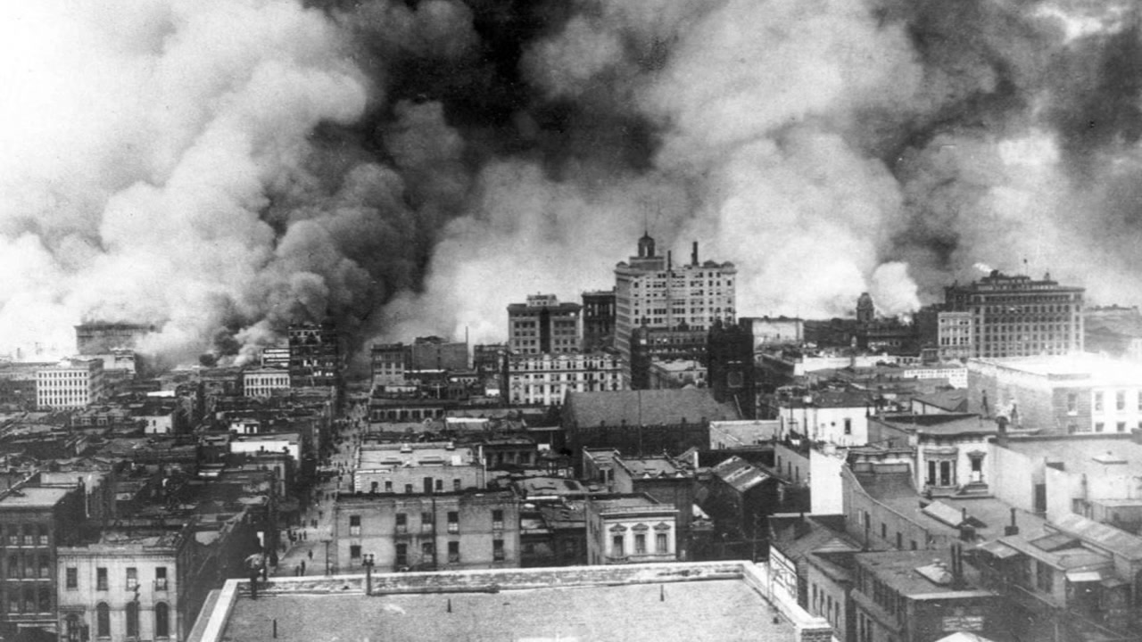 Image result for san francisco earthquake in 1906
