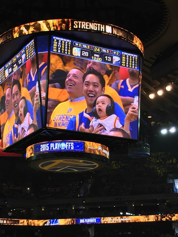 <div class='meta'><div class='origin-logo' data-origin='none'></div><span class='caption-text' data-credit='Photo sent to KGO-TV/uReport'>Golden State Warriors fans are showing off their #DubNation pride! Tag your photos on Facebook, Twitter, Google Plus, or Instagram using #DubsOn7!</span></div>