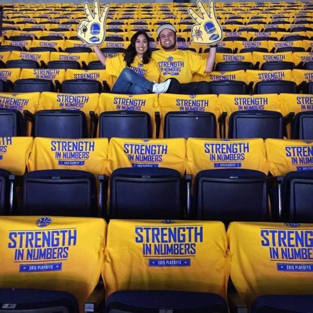 <div class='meta'><div class='origin-logo' data-origin='none'></div><span class='caption-text' data-credit='Photo sent to KGO-TV by Michele and Jon./uReport'>Golden State Warriors fans are showing off their #DubNation pride! Tag your photos on Facebook, Twitter, Google Plus, or Instagram using #DubsOn7!</span></div>