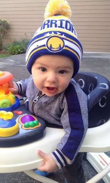 <div class='meta'><div class='origin-logo' data-origin='none'></div><span class='caption-text' data-credit='Photo sent to KGO-TV by anonymous user/UReport'>Golden State Warriors fans are showing off their #DubNation pride! Tag your photos on Facebook, Twitter, Google Plus, or Instagram using #DubsOn7!</span></div>