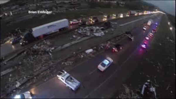 """<div class=""""meta image-caption""""><div class=""""origin-logo origin-image """"><span></span></div><span class=""""caption-text"""">Tornadoes swept through the central and southern United States over the weekend, leaving a path of destruction and killing more than a dozen people. The death toll continues to rise from the biggest tornado outbreak of the year so far.</span></div>"""