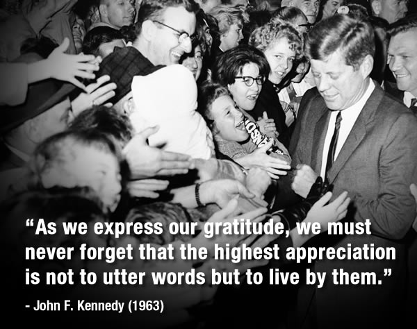 "<div class=""meta image-caption""><div class=""origin-logo origin-image ""><span></span></div><span class=""caption-text"">President John Kennedy walked to the barrier, holding back crowd after his arrival at Detroit's Metropolitan airport Oct. 5, 1962 and received this  enthusiastic reception when everyone tried to shake his hand. Gov. John B. Swainson is at right. (AP Photo)</span></div>"