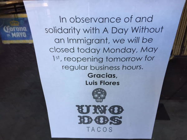 <div class='meta'><div class='origin-logo' data-origin='none'></div><span class='caption-text' data-credit='KGO-TV'>Stores are closed in observance of May Day in San Francisco on Monday, May 1, 2017.</span></div>