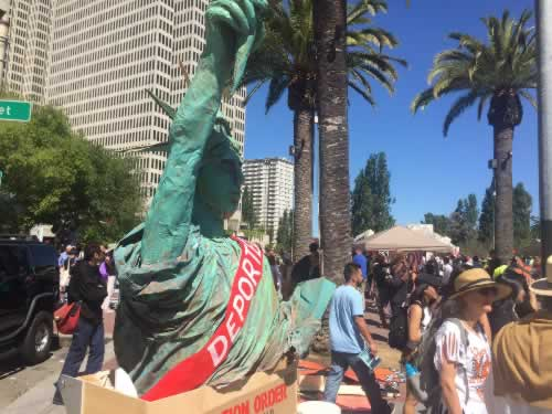 <div class='meta'><div class='origin-logo' data-origin='none'></div><span class='caption-text' data-credit='KGO-TV'>A May Day march took place at Justin Herman Plaza in San Francisco on Monday, May 1, 2017.</span></div>