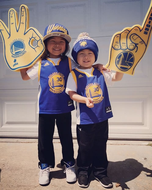 <div class='meta'><div class='origin-logo' data-origin='none'></div><span class='caption-text' data-credit='Photo sent to KGO-TV by @kristine_t0mik0/Instagram'>Golden State Warriors fans are showing off their #DubNation pride! Tag your photos on Facebook, Twitter, Google Plus, or Instagram using #DubOn7!</span></div>