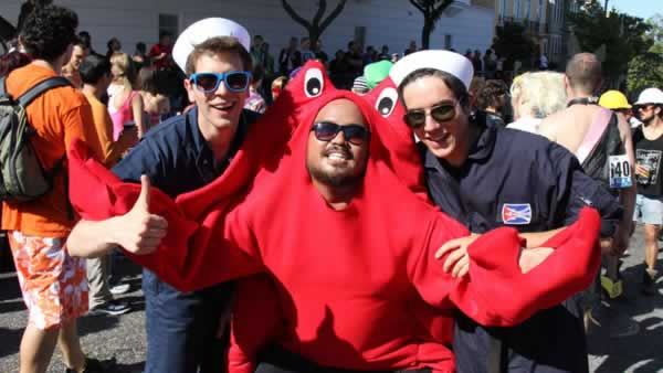<div class='meta'><div class='origin-logo' data-origin='none'></div><span class='caption-text' data-credit='Photo by piyush.k/Flickr'>Dress as your favorite crustacean....no one will be crabby about that!</span></div>