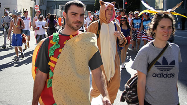 Or when all else fails...be a taco! <span class=meta>Photo by keved/Flickr</span>