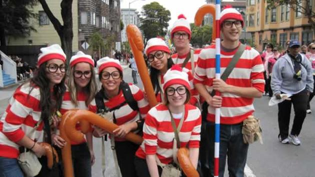 Get in the Waldo spirit and challenge your friends to find you!