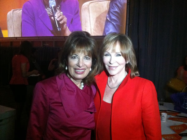 Professional BusinessWomen of California founder Rep. Jackie Speier with ABC7 News anchor Cheryl Jennings.  <span class=meta>(KGO)</span>