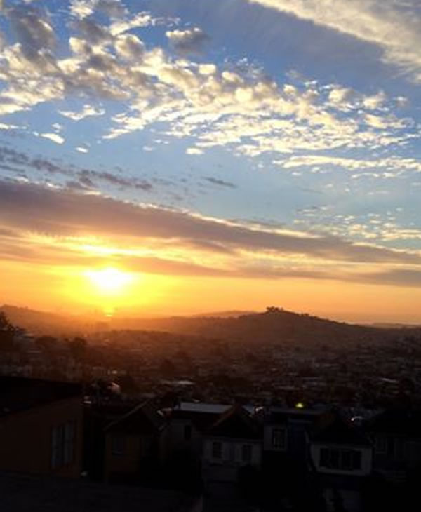 Sunset from Twin Peaks (Photo submitted by supergirl4ever via uReport)