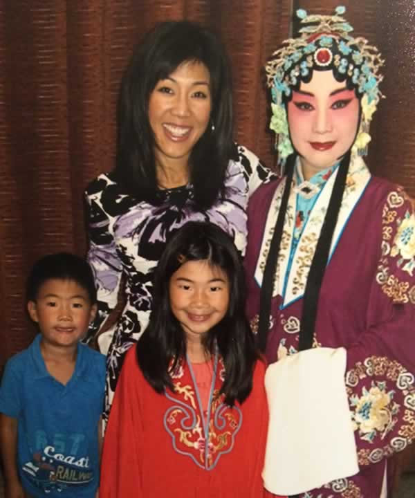 &#34;My mom is my inspiration. She has never let anything stop her from pursuing her passion: Chinese Opera.&#34; -Kristen Sze <span class=meta>(Kristen Sze)</span>