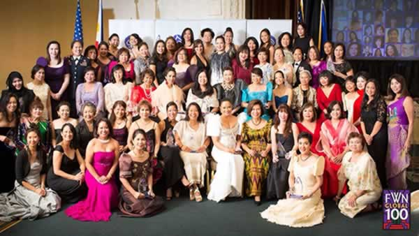 Since 2007, the San Francisco-based Filipina Women's Network has annually recognized the 100 Most Influential Filipina Women in the US.