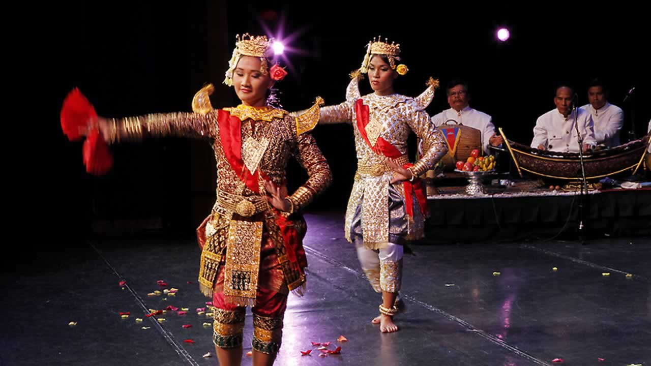 The Cambodian Cultural Dance Troupe, a program of the San Jose-based Cambodian American Resource Agency &#40;CARA&#41;, brings the beauty of Cambodian traditions to Bay Area audiences.  <span class=meta>(CARA)</span>