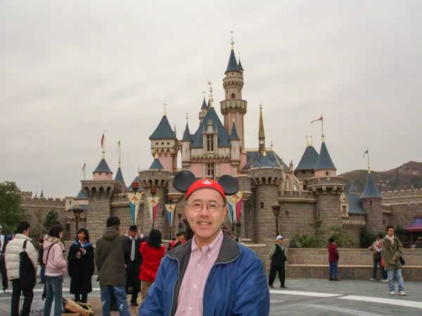 <div class='meta'><div class='origin-logo' data-origin='none'></div><span class='caption-text' data-credit='Photo submitted to KGO-TV by Julie G/Twitter'>ABC7 News reporter Davie Louie at Disneyland in Hong Kong! ABC7 News viewers and staff are celebrating Disneyland's 60 years of magic by sharing photos of themselves at the park.</span></div>