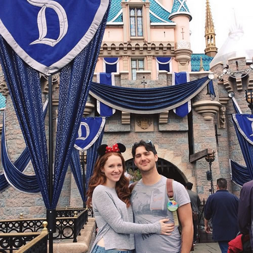 <div class='meta'><div class='origin-logo' data-origin='none'></div><span class='caption-text' data-credit='Photo submitted to KGO-TV by @juliavonkleinschmidt/Instagram'>Sleeping Beauty's Castle! ABC7 News viewers and staff are celebrating Disneyland's 60 years of magic by sharing photos of themselves at the park.</span></div>