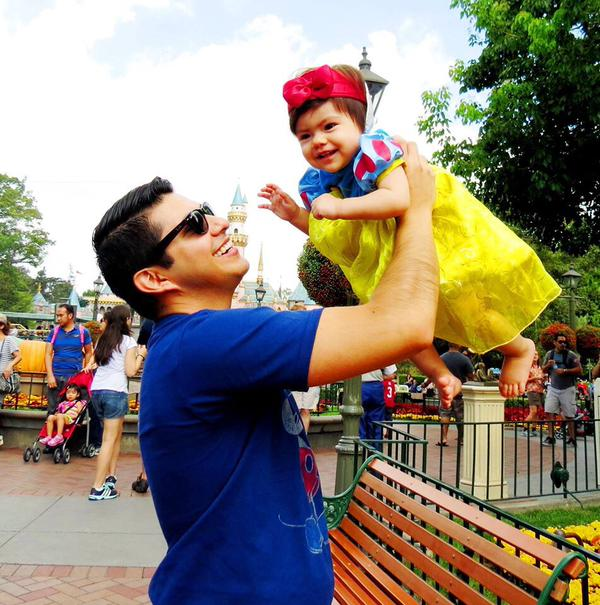 <div class='meta'><div class='origin-logo' data-origin='none'></div><span class='caption-text' data-credit='Photo submitted to KGO-TV by Freddy Flores/Twitter'>Magical father-daughter moments at Disneyland. ABC7 News viewers and staff are celebrating Disneyland's 60 years of magic by sharing photos of themselves at the park.</span></div>