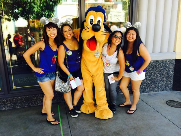 <div class='meta'><div class='origin-logo' data-origin='none'></div><span class='caption-text' data-credit='Photo submitted to KGO-TV by Kimmie S/Twitter'>Disneyland is the BEST place for a bachelorette party! ABC7 News viewers and staff are celebrating Disneyland's 60 years of magic by sharing photos of themselves at the park.</span></div>