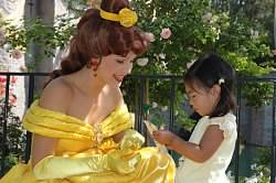 <div class='meta'><div class='origin-logo' data-origin='none'></div><span class='caption-text' data-credit='Photo submitted to KGO-TV by ABC7 News Anchor Kristen Sze/Twitter'>ABC7 News Anchor Kristin Sze's daughter met Princess Belle! ABC7 News viewers and staff are celebrating Disneyland's 60 years of magic by sharing photos of themselves at the park.</span></div>
