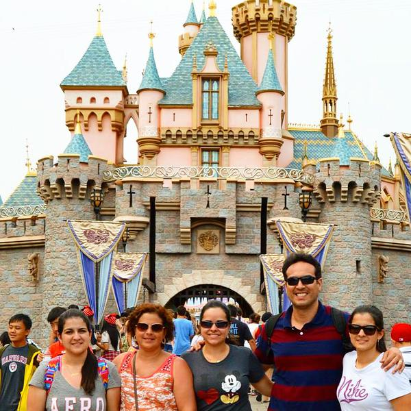 <div class='meta'><div class='origin-logo' data-origin='none'></div><span class='caption-text' data-credit='Photo submitted to KGO-TV by Sibilla M/Twitter'>Celebrating Disney's 60th anniversary with the family! ABC7 News viewers and staff are celebrating Disneyland's 60 years of magic by sharing photos of themselves at the park.</span></div>