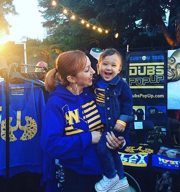 <div class='meta'><div class='origin-logo' data-origin='none'></div><span class='caption-text' data-credit='Photo submitted to KGO-TV by @dubspopup/Instagram'>We want to see your fan pride, so tag your photos #DubsOn7 and we may feature them here or on TV.</span></div>