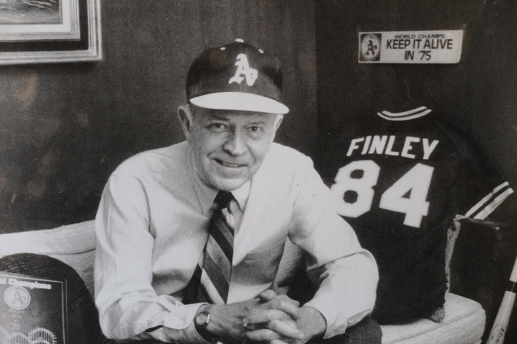 <div class='meta'><div class='origin-logo' data-origin='none'></div><span class='caption-text' data-credit='KGO-TV/Wayne Freedman'>A member of the Finley family is pushing the Oakland Athletics for recognition of the team's late mascot named Charlie O.</span></div>