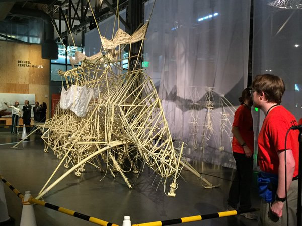 "<div class=""meta image-caption""><div class=""origin-logo origin-image none""><span>none</span></div><span class=""caption-text"">People gather at the Exploratorium's Strandbeest exhibit in San Francisco on Wednesday, May 25, 2016. (Sandhya Patel/KGO-TV)</span></div>"