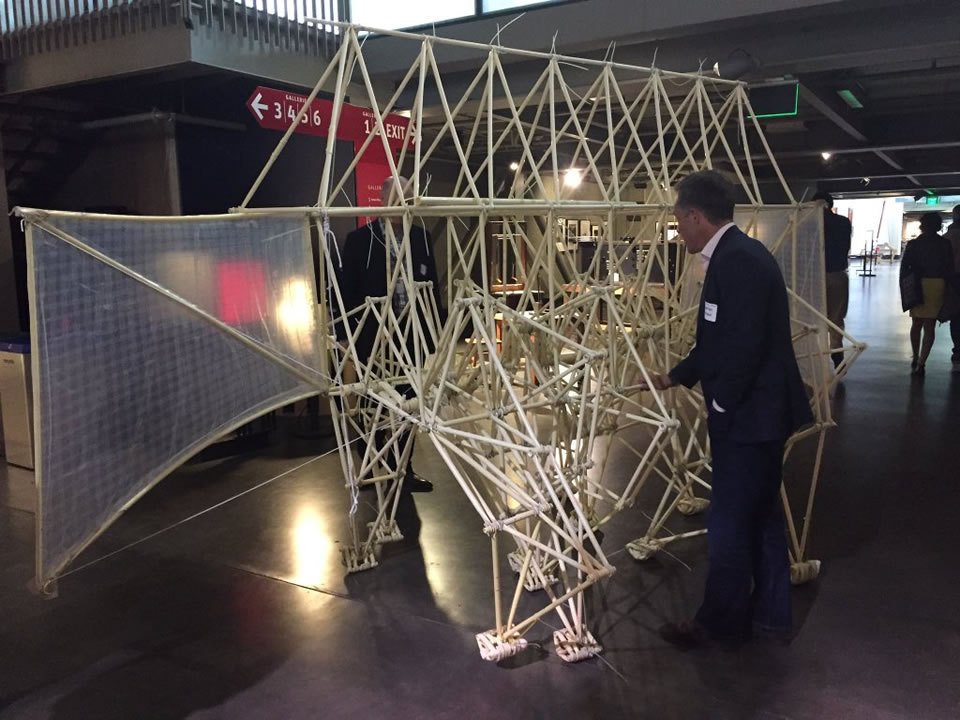 "<div class=""meta image-caption""><div class=""origin-logo origin-image none""><span>none</span></div><span class=""caption-text"">ABC7's Larry Beil plays with an art installation at the Exploratorium's Strandbeest exhibit in San Francisco on Wednesday, May 25, 2016. (Ama Daetz/KGO-TV)</span></div>"