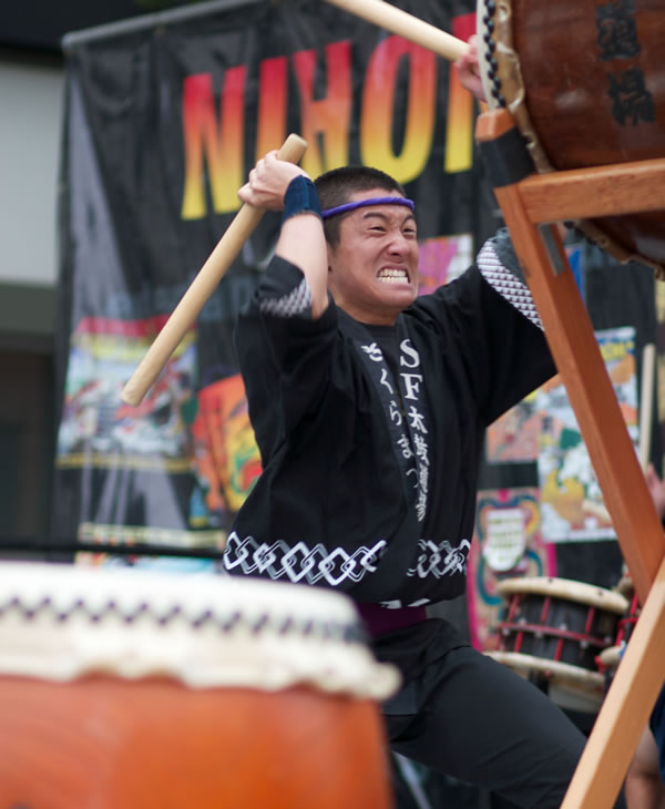 For one weekend every August, the Nihonmachi Street Fair takes over San Francisco&#39;s Japantown. This special event is produced, staffed, and organized by youth volunteers. <span class=meta>(Nihonmachi Street Fair)</span>