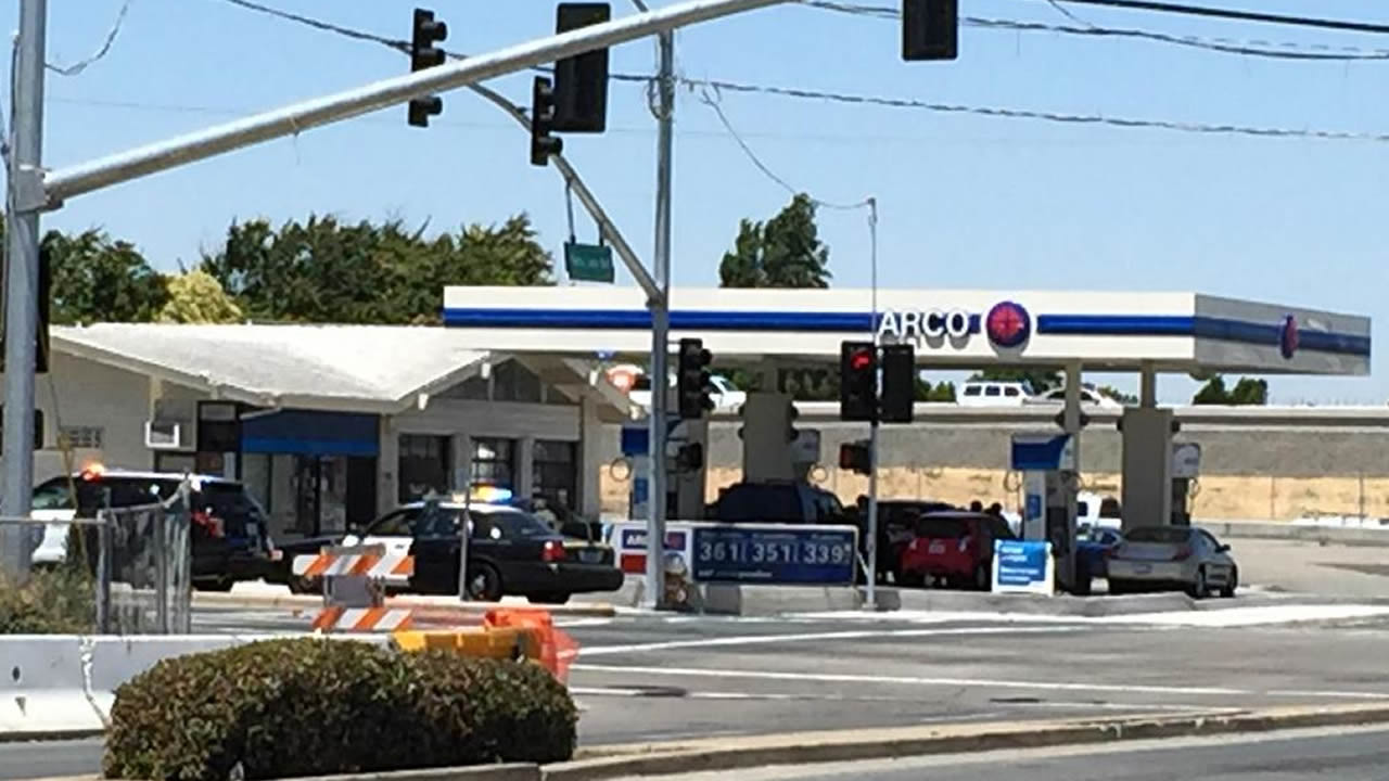 <div class='meta'><div class='origin-logo' data-origin='none'></div><span class='caption-text' data-credit='KGO-TV/David Louie'>Multiple agencies assisted in a hostage situation at an ARCO gas station in Antioch, Calif. on May 27, 2015.</span></div>