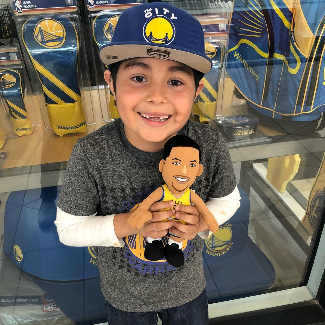 <div class='meta'><div class='origin-logo' data-origin='none'></div><span class='caption-text' data-credit='Photo submitted to KGO-TV by @empressgarcia/Instagram'>Warriors fans show their spirit during the 2017-2018 season. Share your photos using #DubsOn7 and you may see them online or on TV!</span></div>